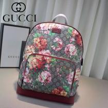 Gucci 406370-03 潮流時尚新款天竺葵時尚雙肩包