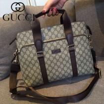 Gucci 354381 人氣熱銷時尚新款男士手提肩背電腦包