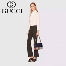 Gucci 409487-05 人氣熱銷潮流時尚款padlock系列大瑣扣大號鏈條包