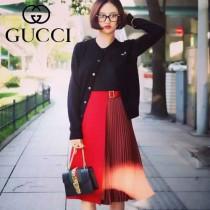 Gucci 431666 專櫃時尚新款Sylvie系列小S同款兩條肩帶設計小號單肩包