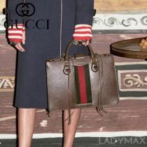 Gucci 431277-02 專櫃新款gucci animalier系列中號手提包
