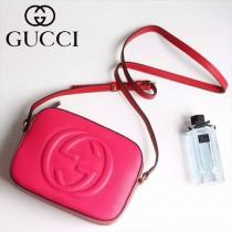 Gucci 431567 人氣熱銷時尚款CAOEG系列拼色SohoDisco肩背包