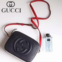 Gucci 431567-02 人氣熱銷時尚款CAOEG系列拼色SohoDisco肩背包