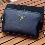 普拉達-06 爸爸節特價男士休閒手拿包