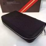 LV M41503-01 人氣熱銷時尚款原版皮十字紋系列男士手拿包
