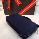 LV M41503 人氣熱銷時尚款原版皮EPI水波紋系列男士手拿包