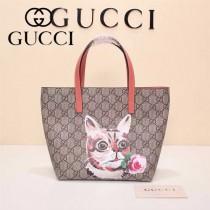 Gucci 410812-04 專櫃時尚新款最萌的mini卡通購物袋