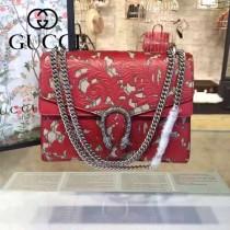 Gucci 400235-012 原單dionysus系列真皮手工雕花大號酒神包