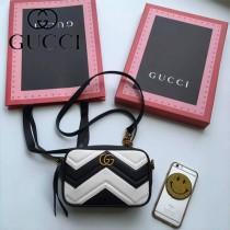 Gucci 448065 人氣熱銷時尚款GG marmont系列相機包