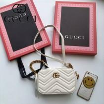 Gucci 448065-04 人氣熱銷時尚款GG marmont系列相機包