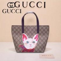 Gucci 410812-03 專櫃時尚新款最萌的mini卡通購物袋