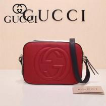 Gucci 308364-29 人氣熱銷時尚新款新配色全皮相機包單肩斜背包