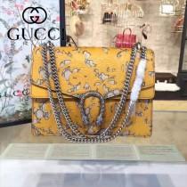 Gucci 400235-010 原單dionysus系列真皮手工雕花大號酒神包