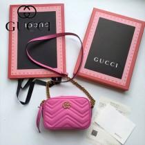 Gucci 448065-02 人氣熱銷時尚款GG marmont系列相機包
