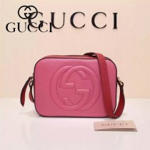 Gucci 308364-27 人氣熱銷時尚新款新配色全皮相機包單肩斜背包