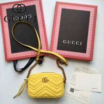 Gucci 448065-03 人氣熱銷時尚款GG marmont系列相機包