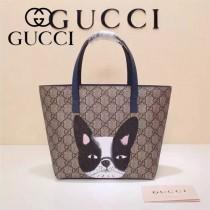 Gucci 410812-02 專櫃時尚新款最萌的mini卡通購物袋