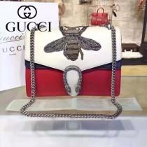 Gucci 400235-014 專櫃時尚新款Dionysus系列狄俄尼索斯限量重工刺繡酒神包