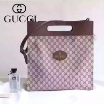 Gucci 442909 專櫃時尚新款全新時尚標誌大容量手提斜挎包