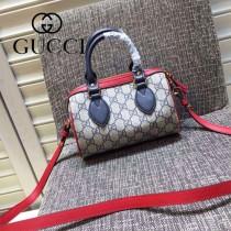 Gucci 432123-05 歐美時尚新款mini系列波士頓枕頭包