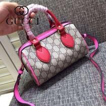 Gucci 432123-04 歐美時尚新款mini系列波士頓枕頭包