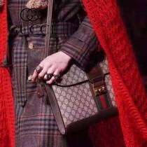 Gucci 441984-02 專櫃時尚新款英倫風系列單肩斜背包