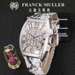 Franck Muller-25-07 潮流時尚新款張智霖代言酒桶型雕刻新品腕表