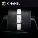 CHANEL-01-9 時尚女士新款白色配白底316精鋼錶殼進口石英腕錶