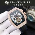 Franck Muller-27-017 潮流時尚新款純手工精工鑲嵌礦物質耐磨玻璃進口機芯男士腕表