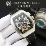 Franck Muller-27-04 潮流時尚新款純手工精工鑲嵌礦物質耐磨玻璃進口機芯男士腕表