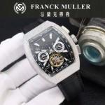 Franck Muller-27-012 潮流時尚新款純手工精工鑲嵌礦物質耐磨玻璃進口機芯男士腕表