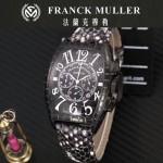 Franck Muller-25-01 潮流時尚新款張智霖代言酒桶型雕刻新品腕表