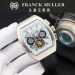 Franck Muller-27 潮流時尚新款純手工精工鑲嵌礦物質耐磨玻璃進口機芯男士腕表
