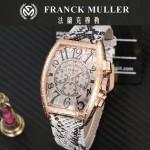 Franck Muller-25-06 潮流時尚新款張智霖代言酒桶型雕刻新品腕表