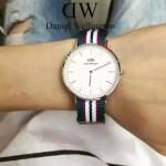 DW-01-02 時尚潮人熱寵丹尼爾.惠靈頓超薄原裝石英機芯腕表