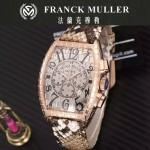 Franck Muller-25-02 潮流時尚新款張智霖代言酒桶型雕刻新品腕表