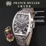 Franck Muller-25-08 潮流時尚新款張智霖代言酒桶型雕刻新品腕表