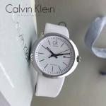 CK-019 潮流百搭白色原單30米生活防水瑞士石英腕錶