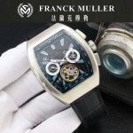 Franck Muller-27-03 潮流時尚新款純手工精工鑲嵌礦物質耐磨玻璃進口機芯男士腕表