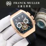 Franck Muller-27-08 潮流時尚新款純手工精工鑲嵌礦物質耐磨玻璃進口機芯男士腕表