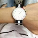 DW-01 時尚潮人熱寵丹尼爾.惠靈頓超薄原裝石英機芯腕表