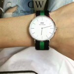 DW-01-05 時尚潮人熱寵丹尼爾.惠靈頓超薄原裝石英機芯腕表