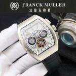 Franck Muller-27-01 潮流時尚新款純手工精工鑲嵌礦物質耐磨玻璃進口機芯男士腕表