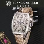 Franck Muller-25-09 潮流時尚新款張智霖代言酒桶型雕刻新品腕表