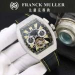 Franck Muller-27-014 潮流時尚新款純手工精工鑲嵌礦物質耐磨玻璃進口機芯男士腕表