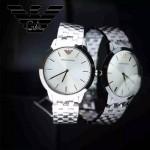 ARMANI-198 潮流經典休閒男士原單ar2434鋼帶款款腕錶