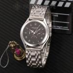 PATEK PHILIPPE-0145-013 百達翡麗進口石英藍寶石鏡面精品男士計時腕表