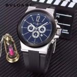 Bvlgari-97-07 寶格麗進口多功能計時石英男士腕表