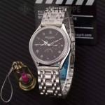 PATEK PHILIPPE-0145-05 百達翡麗進口石英藍寶石鏡面精品男士計時腕表