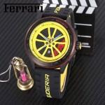 Ferrari法拉利-079 法拉利於賽車元素腕表計時石英機芯時尚腕表